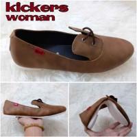 Sepatu Kickers Woman Elena Brown Sepatu Pria Free Kaoskaki