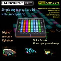 Novation Launchpad Pro Play DJ like a pro
