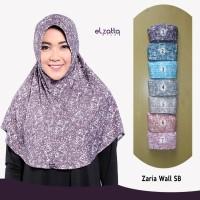 Jual ELZATTA Asli Hijab Bergo Zaria Wall SB Kerudung Jilbab Instan Murah