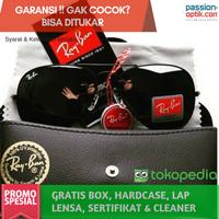 Jual Kacamata Rayb@n Aviator Black - Kualitas Premium Murah