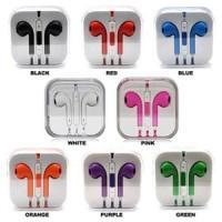 harga Termurah !! Apple Earphones Iphone 5 (oem) Handsfree Headset Earphone Tokopedia.com