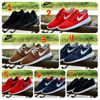 harga Sepatu Pria Sneakers Nike Roshe Run Made In Vietnam Asli Import Tokopedia.com