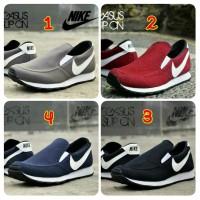 harga Sepatu Pria Casual Nike Slip On Made In Vietnam Asli Import Tokopedia.com