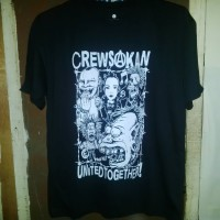 kaos band punk Crewsakan
