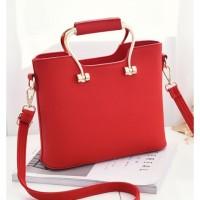 harga Tas Wanita Import Ic86877 Red Handbag Fashion Korea Zara Tas Kerja Tokopedia.com