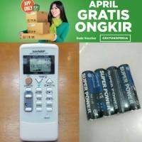 harga Remot Remote Ac Sharp Original Ion Plasmacluster Pasti Konek Tokopedia.com