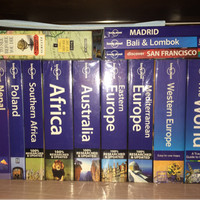 Buku traveling lonely planet dll