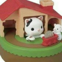 Jual Sutakora Cat Mouse Animal Piggy Bank Celengan Kitty / Coin Bank Kitty Murah