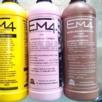 Organik cair EM4 Pertanian Perternakan Perikanan tambak 1ltr probiotik