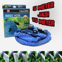Magic X Hose 15 Meter/ 50 Feet/ Selang Taman dan Rumah