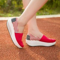 harga Sepatu Slip On Wanita Us Red ( Murah, Grosir, Casual, Cantik ) Tokopedia.com