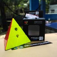 Rubik Pyraminx Bell Qiyi Magnetic Stickerless | Qiyi Bell Pyraminx