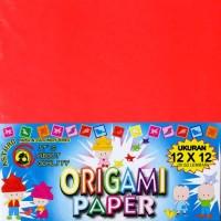 Asturo Origami Paper / Kertas Origami / Kertas Lipat Ukuran 12x12 cm