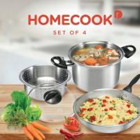 Homecook 4 - Piece Cookware (Set Of 4)