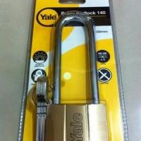 Gembok Yale Original - V140.50-LONG