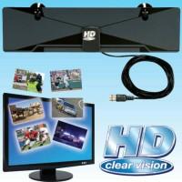 Jual HD Clear Vision Antenna HD Digital Antena Indoor TV LED dan LCD Murah