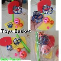 Mainan/Toys buat burung Parrot Macau Afgrey Kakatua Nuri