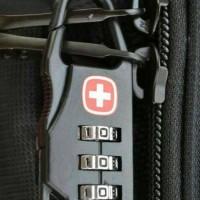 Gembok Koper Padlock Digit Travel Bag Tas Kunci Pin Swiss Gear Army