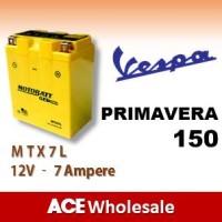harga Aki Primavera 150 Vespa Motobatt Mtx7l kering Motor U/ Gs Tokopedia.com