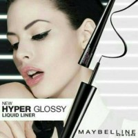 MAYBELLINE EYE LINER - HYPER GLOSSY LIQUID LINER BLACK