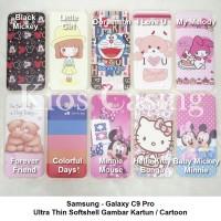 Samsung Galaxy C9 Pro Ultra Thin Soft Case Gambar Casing Cover Kartun