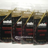 Alat Rajut Addi Lace Circular Knitting Needle 40cm 5.5mm-7.0mm