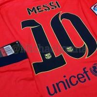 Jersey FC Barcelona Away 2014-2015 Long Sleeve (LS) Messi (ORIGINAL)