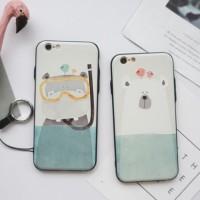 harga Casing Iphone 6/6s (hard Back & Soft Side) - Hippo & Polar Bear Tokopedia.com