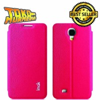Imak Flip Leather Cover Case Series for Samsung J N075T - Rose