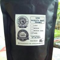 Jual biji kopi robusta jember roasted 200gr Murah