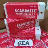 Scabimite 30 gram permethrins 5%