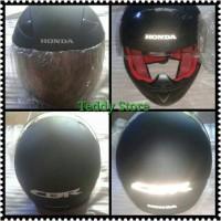 Helm Helmet Full Face Honda CBR 150R CBR150R Facelift Hitam Ori Ahm