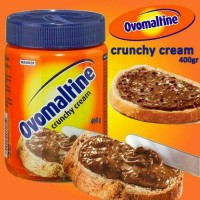 OVOMALTINE SELAI COKELAT OVOMALTINE CRUNCHY CREAM