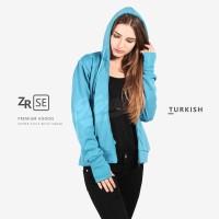 Jual Jaket Sweater Wanita Fleece / Hoodie / Resleting (Premium Edition) Murah