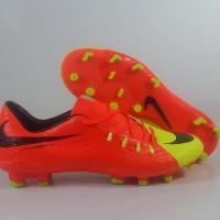 Sepatu Bola Nike HYpervenom Phelon III Orange Yellow FG Replika import