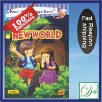 Buku Certa Novel Anak KKPK The New World