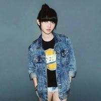 Jual Jaket Jeans Levis Acid Blue Oversize Premium Quality Murah