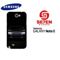 Casing HP Samsung Galaxy Note 2 Audi car Custom Hardcase Cover