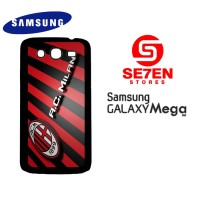 Casing HP Samsung Mega 5,8 AC Milan Wide Custom Hardcase Cover
