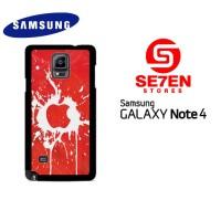 Casing HP Samsung Galaxy Note 4 Apple iPhone Custom Hardcase Cover