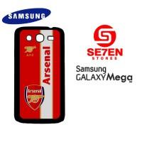 Casing HP Samsung Mega 5,8 arsenal logo 2 Custom Hardcase Cover