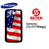 Casing HP Samsung Mega 5,8 American Flag 2 Custom Hardcase Cover