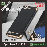 Case Ipaky New Generation Oppo Neo 7 A33 Hard Back Case Casing 3 In 1
