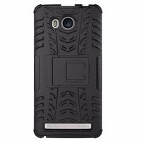 Casing Rugged Armor Lenovo A 7700/ A7700 Kick Stand Hard Soft Case