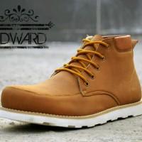 Sepatu Pria Moofeat Edward Tan Semi Boots Casual Tracking Hiking Pria