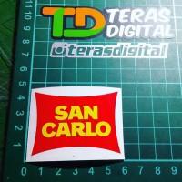 Cutting Sticker San Carlo marco simoncelli 58 Stiker Visor Helm Motogp