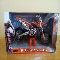 1:12 JOYCITY Trail KTM 250 SX 13 JEFFREY Diecast Miniatur Motor Cross