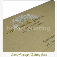 Classic Wedding Card Mr. Handian & Ms. Yovita - Jakarta [ Undangan ]