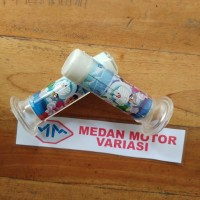 Jual handgrip / handfat / sarung stang motor doraemon ice salju Murah