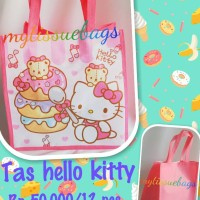 tas souvenir ultah hello kitty/kitty goodie bag